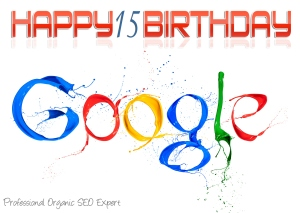 15th birthday google